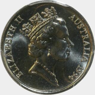 1994  Five Cent obverse