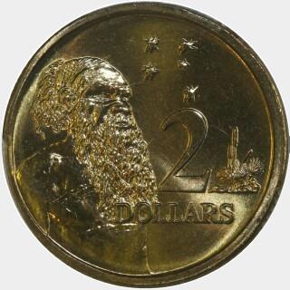 1998  Two Dollar reverse