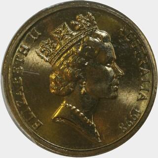 1998  Two Dollar obverse