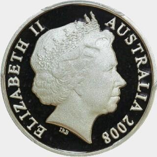 2008 Proof Ten Cent obverse