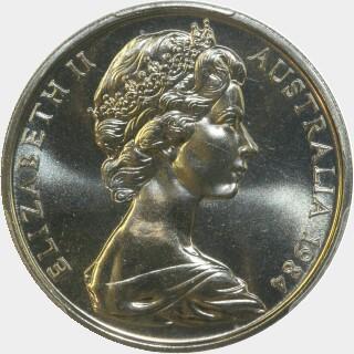 1984  Twenty Cent obverse