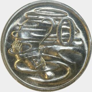 1983  Twenty Cent reverse