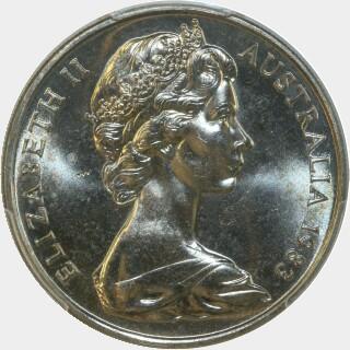 1983  Twenty Cent obverse