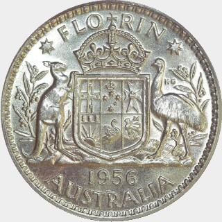 1956  Florin reverse