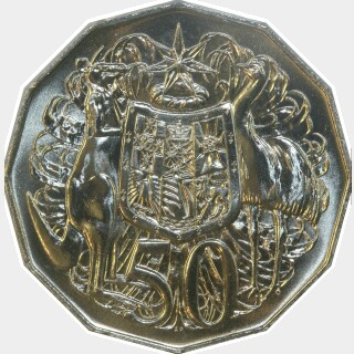1990  Fifty Cent reverse