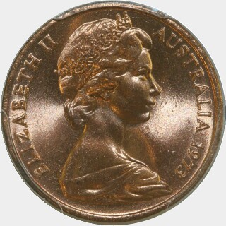 1973  One Cent obverse