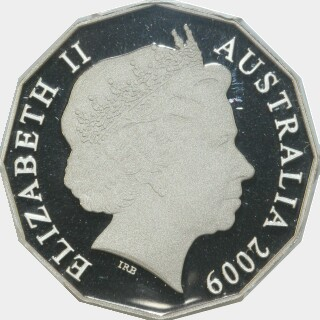 2009 Proof Fifty Cent obverse