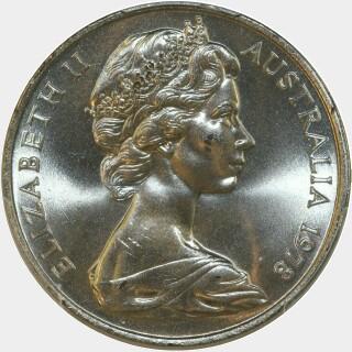 1978  Twenty Cent obverse