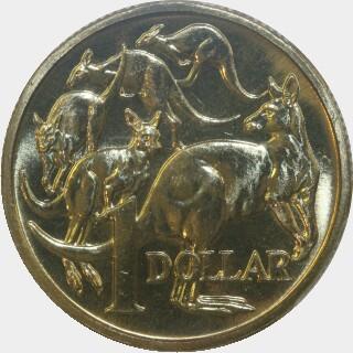 1990  One Dollar reverse