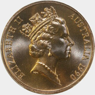 1990  Two Cent obverse