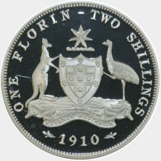 1998 Silver Proof Twenty Cent reverse