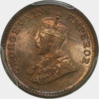 1932(c)  One Twelfth Anna obverse