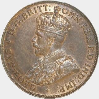 1916-I  Penny obverse