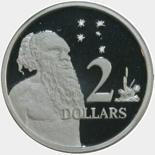 2005 Silver Proof Two Dollar reverse
