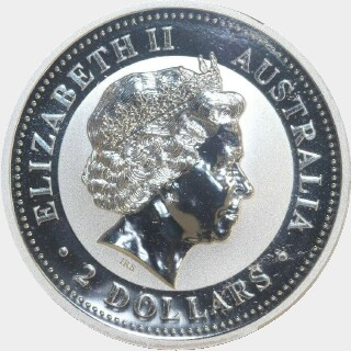 1999-P Silver Five Silver Privy Marks Two Dollar obverse
