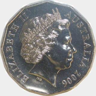 2006  Fifty Cent obverse