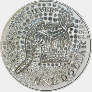 2001  One Dollar reverse
