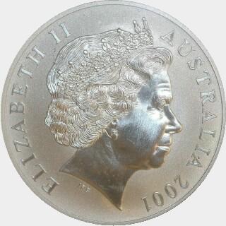 2001  One Dollar obverse