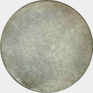1909 Uniface Reverse Pattern Florin obverse