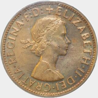 1955-Y Proof Penny obverse