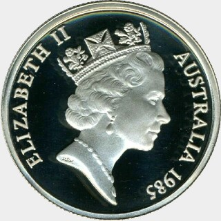 1988 Muled with Australian Reverse Five Cent obverse