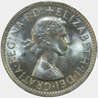 1962  One Shilling obverse