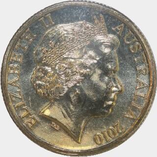 2010  One Dollar obverse
