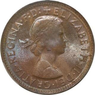 1962-Y  Half Penny obverse