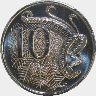 2009  Ten Cent reverse