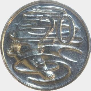 2010  Twenty Cent reverse
