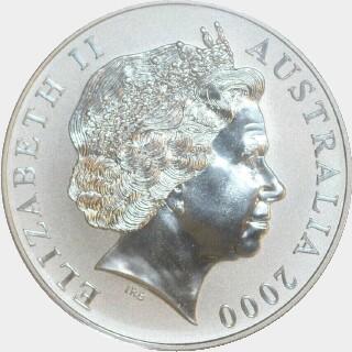 2000  One Dollar obverse