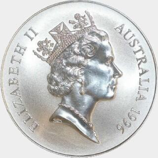1996-C  One Dollar obverse