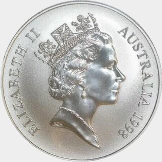 1998-C  One Dollar obverse