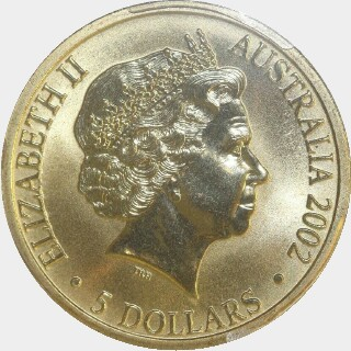 2002  Five Dollar obverse