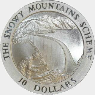1999  Ten Dollar reverse
