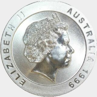 1999  Ten Dollar obverse