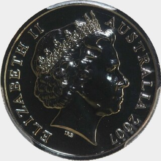 2007  Five Cent obverse