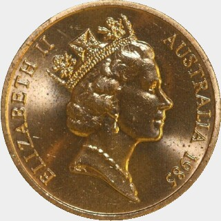 1985  Two Cent obverse