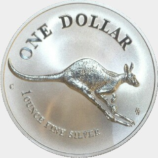 1994-C Continuous Milling One Dollar reverse