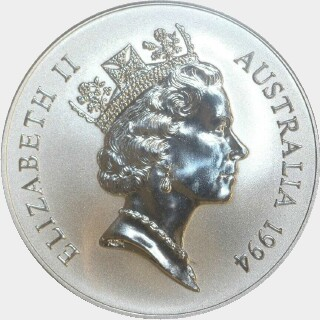 1994-C Continuous Milling One Dollar obverse