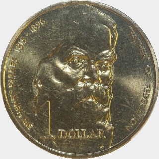 1996  One Dollar reverse