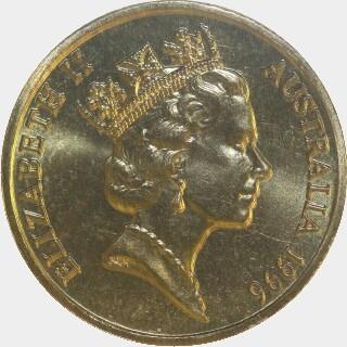 1996  One Dollar obverse