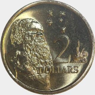 1996  Two Dollar reverse