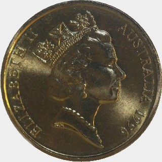 1996  Two Dollar obverse