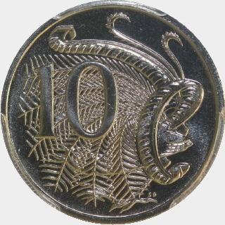 1996  Ten Cent reverse