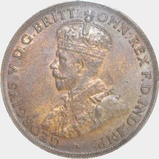 1920  Penny obverse