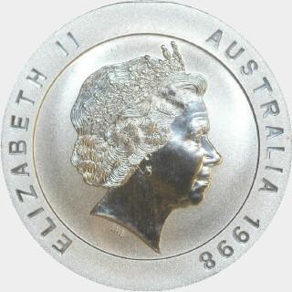 1998  Ten Dollar obverse