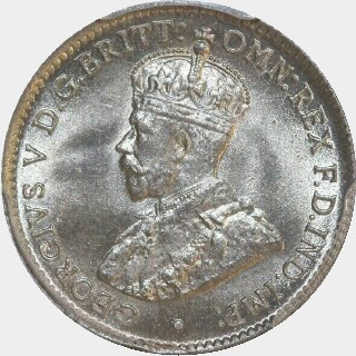 1917-M  Threepence obverse