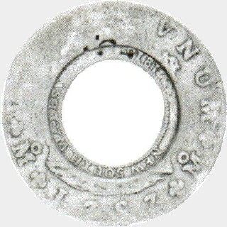1813 1757 | Mexico City Holey Dollar obverse