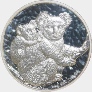 2008-P Silver One Dollar reverse
